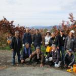 2018.11.23柿収穫ボランティア活動報告